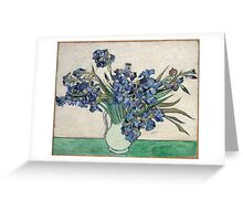 Vincent Van Gogh - Irises, 1890 Greeting Card