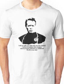 The Prisoner resigned Unisex T-Shirt