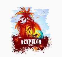 Sunset Beach Acapulco Unisex T-Shirt