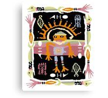 sun shaman Canvas Print