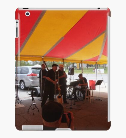Playing, Dancing, Photographing and Laughing iPad Case/Skin