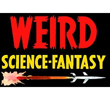 Weird Science Fantasy Photographic Print