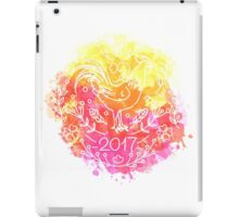 2017 Chinese New Year of the Rooster iPad Case/Skin