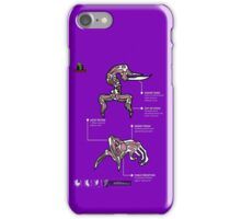 Oddworld - Scrab & Paramite Review Sheet iPhone Case/Skin