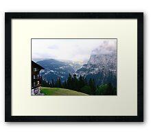 In Switzerland Framed Print