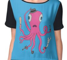 gangster squid Chiffon Top