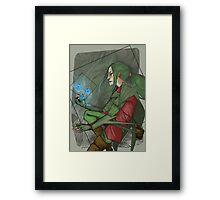 thief grovyle Framed Print
