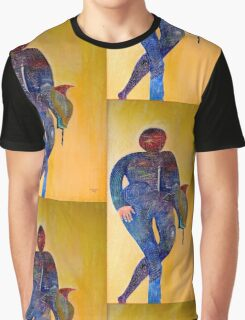 Abstract figure in color Graphic T-Shirt