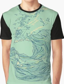 Ocean Breath  Graphic T-Shirt