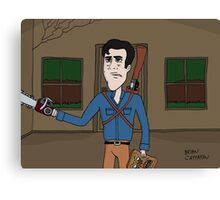Ash vs Evil Dead • Homecoming Canvas Print