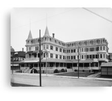 Colonial Hotel - Cape May, New Jersey Canvas Print