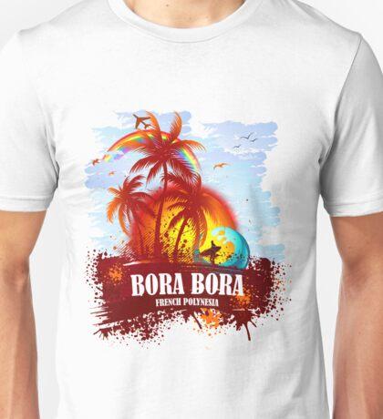 Summer Style Bora Bora Unisex T-Shirt