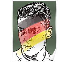 Mesut Ozil - German playmaker Poster