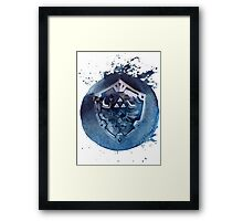 Hyrule Shield Zelda Framed Print