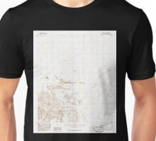 USGS TOPO Map Arizona AZ Midway NW 312357 1986 24000 Unisex T-Shirt