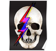 Skull David Bowie Poster