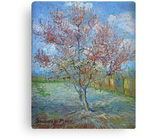 Vincent Van Gogh - Peach Tree In Bloom (In Memory Of Mauve), 1888 Canvas Print