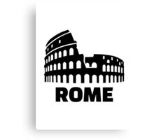 Rome colosseum Canvas Print
