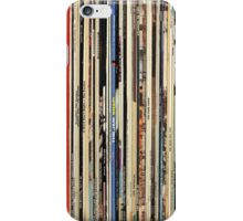 Record Collector Beatles Stones Dylan Vinyl  iPhone Case/Skin