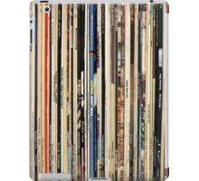 Record Collector Beatles Stones Dylan Vinyl  iPad Case/Skin