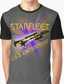 Starfleet U S S  Enterprise Graphic T-Shirt