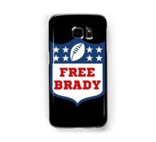 Free Brady! Samsung Galaxy Case/Skin
