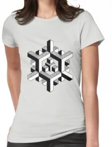 Geometric - Doug Fawkes Womens Fitted T-Shirt