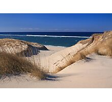Ocean from the Dunes, Cape Cod, Massachusetts Photographic Print