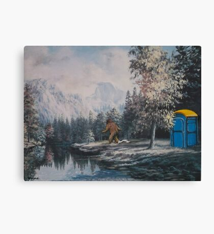 Nature Called Canvas Print