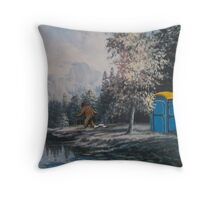 Nature Called Throw Pillow