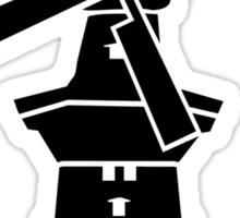 Amsterdam windmill Sticker