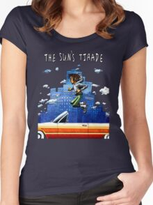 The Sun's Tirade - Isaiah Rashad Women's Fitted Scoop T-Shirt