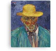 Vincent Van Gogh - Portrait Of Patience Escalier, Shepherd In Provence, 1888 Canvas Print
