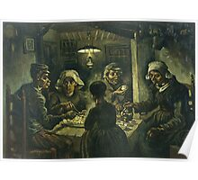 Vincent Van Gogh - Potato Eaters 1885 Poster