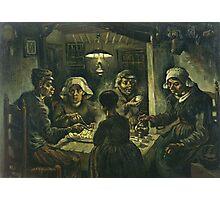 Vincent Van Gogh - Potato Eaters 1885 Photographic Print
