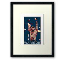 Conor Mcgregor - Warrior Framed Print