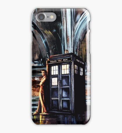 Doctor Who Art Painting iPhone Case/Skin