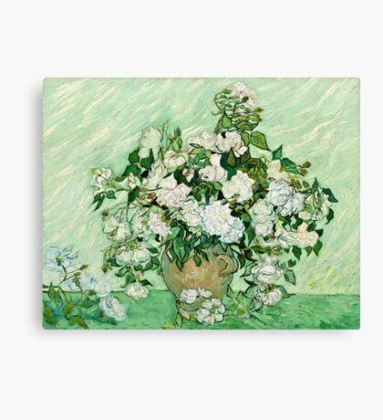 Vincent Van Gogh - Roses 1890  Canvas Print
