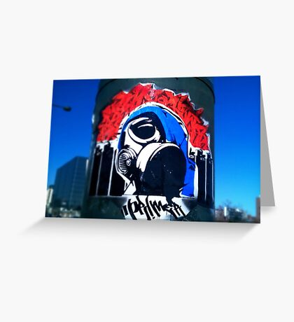 Urban Bandit Greeting Card