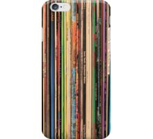 Classic Alternative Rock Records iPhone Case/Skin