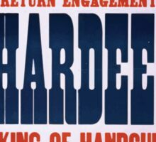 Performing Arts Posters Return engagement of Hardeen king of handcuffs the biggest vaudeville attraction in America 2039 Sticker