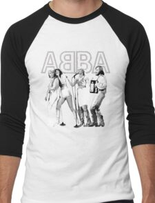 Wonderful ABBA LIVE exclusive design (Australia 77') Men's Baseball ¾ T-Shirt