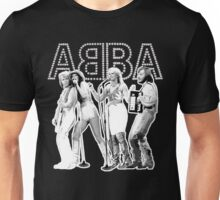 Wonderful ABBA LIVE exclusive design (Australia 77') Unisex T-Shirt