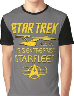 Star Trek USS Enterprise Starfleet Graphic T-Shirt