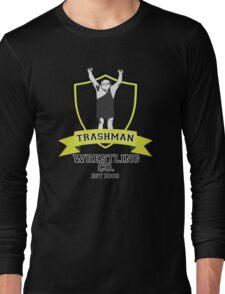 It's Always Sunny in Philadelphia Frank Reynolds Trashman Wrestling Print Long Sleeve T-Shirt