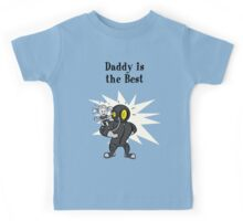 BioShock – Daddy is the Best Poster (Black) Kids Tee