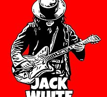 JACK WHITE by TONYARTIST