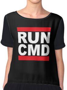 Run CMD Chiffon Top