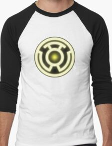 YELLOW LANTERN - FEAR! Men's Baseball ¾ T-Shirt