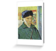Vincent Van Gogh - Self Portrait With Bandaged Ear 1889 Greeting Card